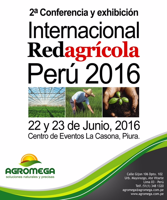 Red agrícola Perú 2016